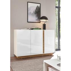 INOSIGN Sideboard CLAiR Sideboard 52, Breite 138 cm weiß