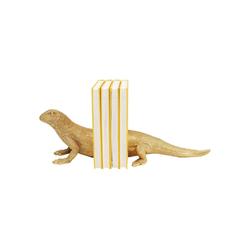 KARE Buchstütze Buchstütze Lizard 2Set braun