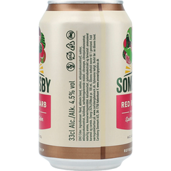 Somersby Red Rhubarb 4,5% 24x0,33 ltr.
