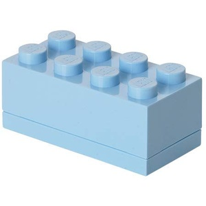 Lego Mini Box 8 Light Royal Blue