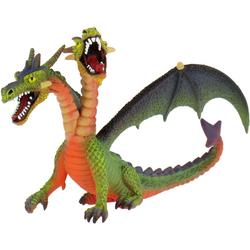 BULLYLAND - Figurine World - Fantasy - Drache mit 2 Köpfen