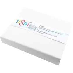 Spannbettlaken Jersey Laufstall, tiSsi®, für Laufgitter weiß