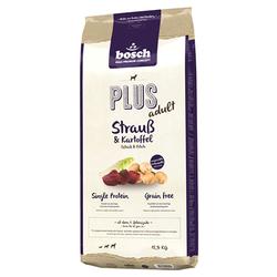 (4,80 EUR/kg) Bosch PLUS mit Strauß & Kartoffeln 12,5 kg