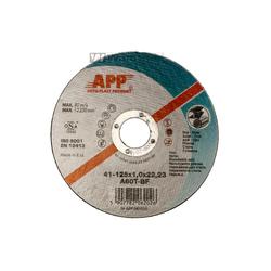 APP A 60 T-BF INOX Trennscheiben - 125 x 1 x 22,23 mm