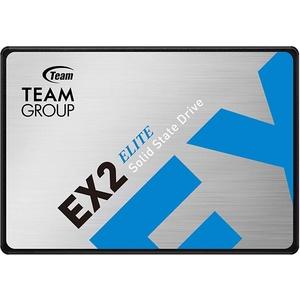 TEAMGROUP EX2 2TB 2,5 Zoll SATA III interne Solid State Drive SSD (Lese- und Schreibgeschwindigkeit bis zu 550/520 MB/s) T253E2002T0C101