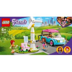 LEGO® Puzzle LEGO® Friends 41443 Olivias Elektroauto, Puzzleteile