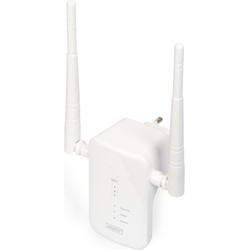 Digitus 1200 Mbps Wireless Dual-Band Mesh System 3-er Set 2.4 / 5.8 GHz (867Mbit/s, 300Mbit/s), WLAN Repeater
