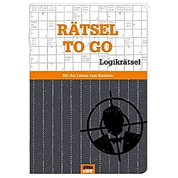Rätselheft - Rätsel to go - Edition Logik