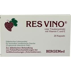 RES VINO Roter Trauben Extrakt Rotweintraubenextra