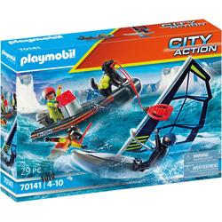 PLAYMOBIL® 70141Seenot: Polarsegler-Rettung mit Schlauchboot