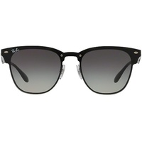 Ray Ban Blaze Clubmaster RB3576N black gloss / grey gradient