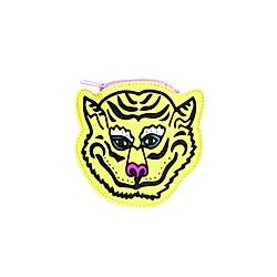Geldbeutel, Tiger, Gelb