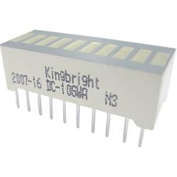 Kingbright DC-10YWA LED-Bargraph 10fach Gelb (B x H x T) 25.4 x 10.16 x 8mm