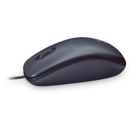 Logitech M100 Optical Mouse schwarz (910-001604)