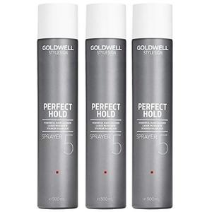 Goldwell 3 er Pack Goldwell Stylesign Sprayer 500ml