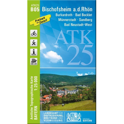 Bischofsheim a.d. Rhön 1:25 000