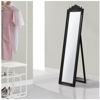 [en casa]® en.casa Standspiegel, Arezzo Ganzkörperspiegel kippbar 160x40cm schwarz