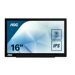 AOC I1601FWUX portabler Monitor 39,6 cm (15,6 Zoll)