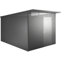 2,60 x 3,40 m dunkelgrau-metallic Einzeltür