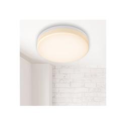 B.K.Licht LED Deckenleuchte, LED Bad Deckenlampe LED 13W 1500lm Bad-Lampen IP54 Badezimmer-Leuchte Küche Flur