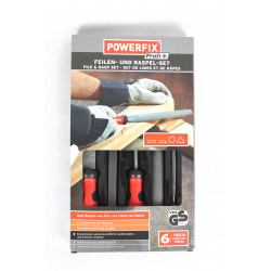 POWERFIX® Profi+ Feilen- und Raspel-Set, 6 tlg.
