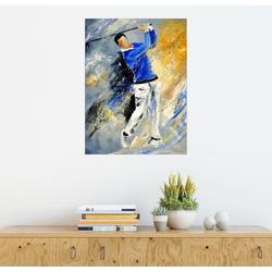Posterlounge Wandbild, Golfspieler 50 cm x 70 cm