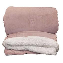 """Kuscheldecke """"LARS XL"""" 220 x 240 cm, old pink"""