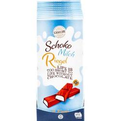 Schokoliebe Schoko-Milch-Riegel 200 g, 10er Pack