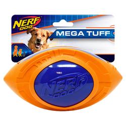 Nerf Dog Hundespielzeug Football Megaton blau/orange