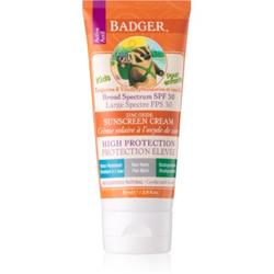 Badger Sun Bräunungscreme für Kinder SPF 30 87 ml