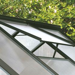 """Vitavia Dachfenster für Gewächshaus """"Calypso"""",anthrazit,"""