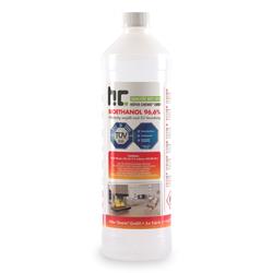 90 x 1 Liter Bioethanol 96,6% Premium für Ethanol-Tischkamin in Flaschen(90 Liter)