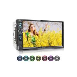 XOMAX Audio-System (XOMAX XM-2V719 2DIN Autoradio mit Mirrorlink, 7'' Zoll Touchscreen Monitor, AUX-IN, SD, USB und BLUETOOTH)