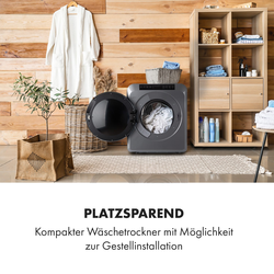 EZ Dry Wäschetrockner Ablufttrockner 1500W 6kg 60cm