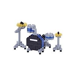 Nanoblock Drum Set Blue // Mini series NANOBLOCK