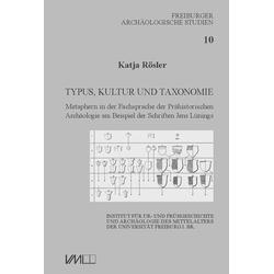 Typus Kultur und Taxonomie: Buch von Katja Rösler