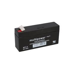 Multipower Multipower Blei-Akku MP3-8 Pb 8V / 3Ah Bleiakkus