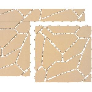 UPP Terrassenplatten, 30x30 cm, 6-St. beige