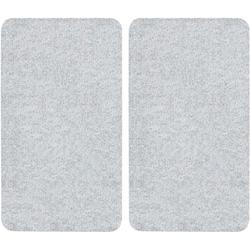 WENKO Herd-Abdeckplatte, Glas, (Set, 2 tlg)