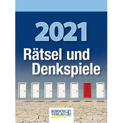 Rätsel und Denkspiele 2021