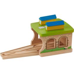 EverEarth® Spielzeugeisenbahn-Gebäude Eisenbahnschuppen