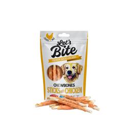 BRIT Let's Bite chewbones sticks with chicken 300 g