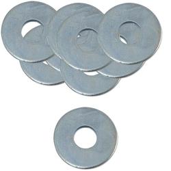 100 Stk. Unterlegscheibe Stahl verzinkt - 13 x 37 x 3 mm - nach DIN 9021- für Schrauben 12 mm