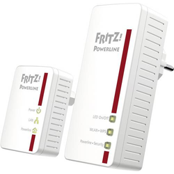 AVM FRITZ!Powerline 540E WLAN Set Powerline WLAN Starter Kit 500MBit/s