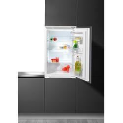 Hanseatic Einbaukühlschrank, 88 cm hoch, 54 cm breit, Kühlschrank, 682263-0 weiß weiß