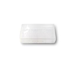 EFEST Plastikbox für 2x 18650 oder 4x 16340 transparent Batterie