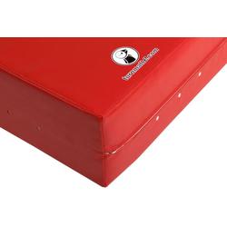 Weichbodenmatte rot - 200 x 200 x 40 cm - 200 x 200 x 40 cm (ca. 40 kg) - rot