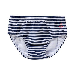 Salt & Pepper Badehose Baby Schwimmwindel für Jungen, Unterwasserwelt 80