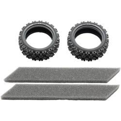Tamiya 54861 Tuningteil Reifen und Einlagen