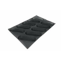 SCHNEIDER AIR Mini Baguette Backform, Gebäckform für Baguette, wie auch Feingebäck, Durchmesser: 200 x 64 mm